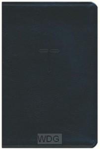 KJV everyday study bible black leathert