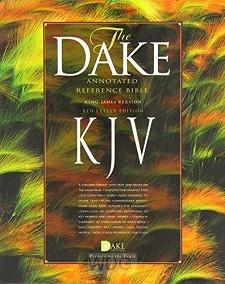 Dake Annotated Ref. Biible - Black