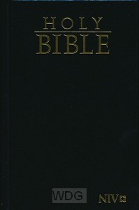 Compact Pocket Bible - Black