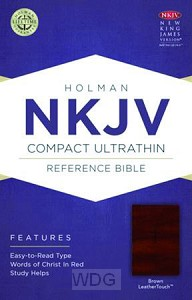 Compact UltraThin Reference Bible