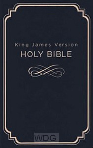 Deluxe Gift & Award Bible - Blue