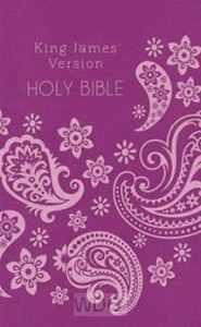 Deluxe Gift & Award Bible - Pink
