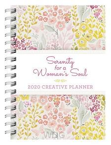 Planner 2020 creative serenity
