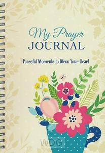 Prayer journal peacefull moments