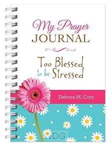 Prayer journal too blessed