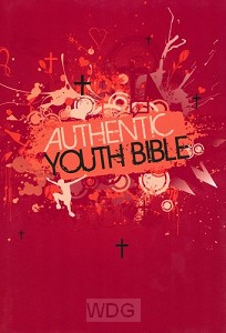 Authentic Youth Bible - Red