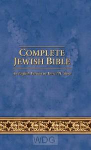 Complete Jewish Bible -Updated-Blue flex