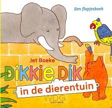 Dikkie dik in de dierentuin flapjesboek