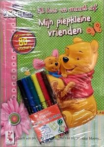Kleurboek & stickerboek winnie de poeh