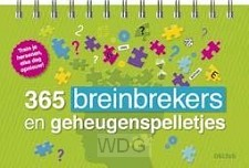 365 breinbrekers en geheugenspelletjes