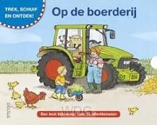 Op de boerderij kartonboek