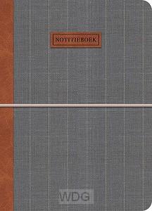 Notitieboek lichtgrijs Gentleman