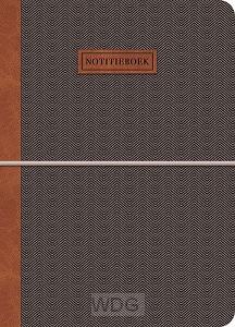 Notitieboek donkergrijs Gentleman