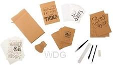 Creatief handletteren + DIY  set