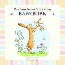 Babyboek raad eens hoeveel ik van je hou