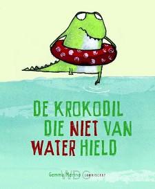 Krokodil die niet van water hield