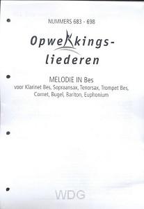 Opwekking muziekboek 683-698 in Bes