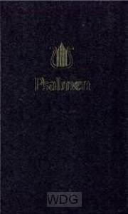 Psalmboek 204401 ed 1773 zwart 12g n-rit