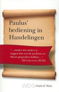 Paulus bediening in handelingen
