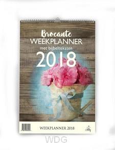 Weekplanner brocante 2018