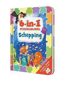 6-in-1 puzzelbijbel schepping