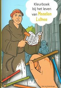 Kleurboek bij het leven van maarten luth