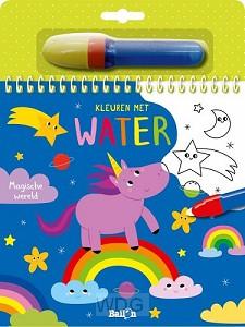 Kleuren met water magische wereld