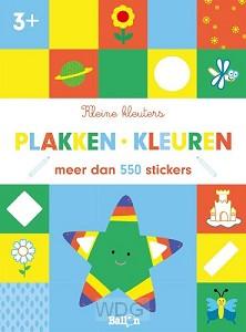 Plakken en kleuren 3+