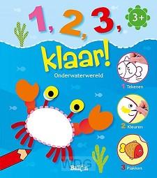 1 2 3 klaar onderwaterwereld 3+