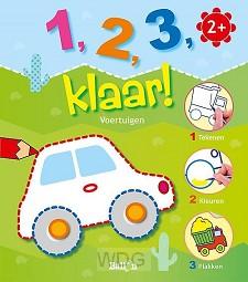 1 2 3 klaar voertuigen 4+
