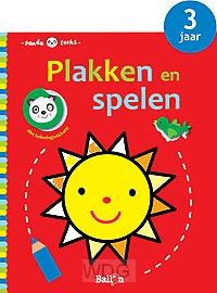 Plakken en spelen zon 3 jaar