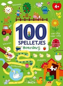 100 spelletjes boerderij 4+