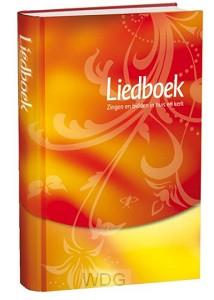 Liedboek rood/geel witsnede