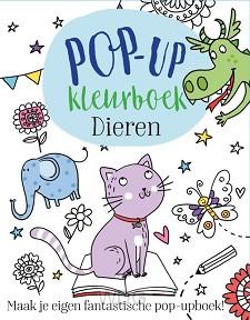 Kleurboek dieren pop-up