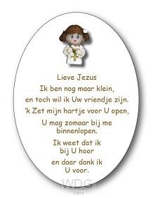 LIEVE JEZUS (MEISJE)