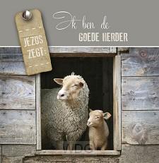 Wenskaart Ik ben de Goede Herder