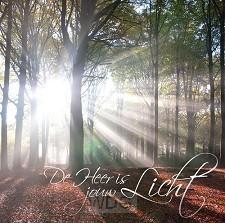 Kaart m env de Heer is jouw licht
