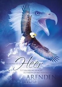 Poster 50x70 hopen op de Heer