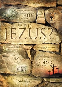 Poster 50x70 wie is Jezus