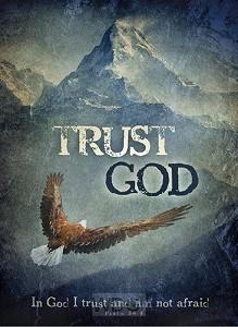 Poster trust in God