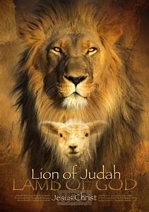Poster A3 lion of judah