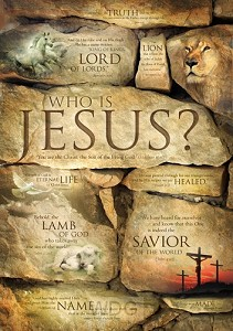 Poster A3 who is Jesus