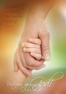 Poster A3 vertrouw op God