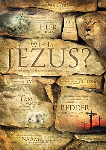 Poster A3 wie is Jezus