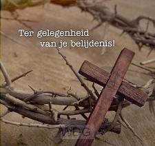 Kaart tg van je belijdenis kruis