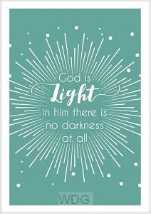 Kaart God is light