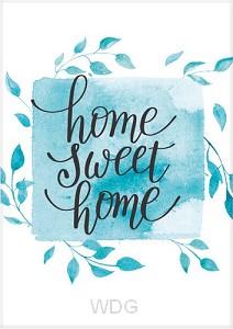 Kaart home sweet home