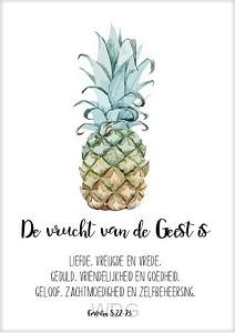 Kaart De vrucht van de Geest