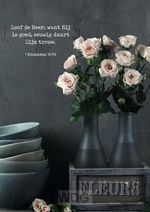 Poster loof de Heer
