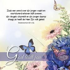 Kaart God leidt jou